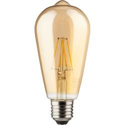 Müller-Licht LED-Lampe ST64 Retro 6,5W 230V E27 690lm 2000K dimmbar warmweiß (400208)