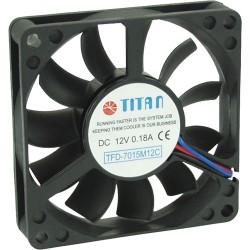 Lüfter, Titan, 70x70x15mm, TFD-7015M12C