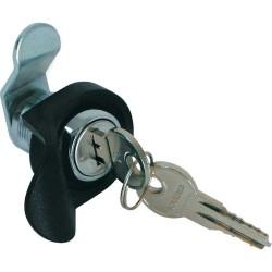 Schloß für Wandverteiler, Triton RAX-MS-X07-X1, gleichschließend inkl. 2 Schlüssel