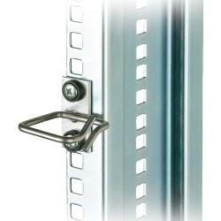 Kabelbügel, Metall, Triton RAX-D3-X44-X3, 40x40mm