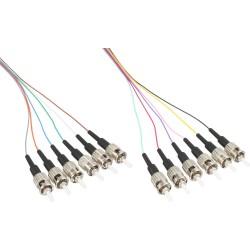 Set de 12 Pigtail fibre optique InLine®