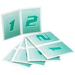 InLine® TFT/LCD nettoyant écrans, sans alcool, 10 pairs de lingettes/tissus secs