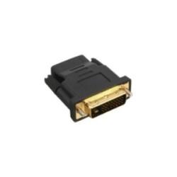 Adaptateur HDMI-DVI, InLine®, prise HDMI femelle sur prise DVI, contacts dorés