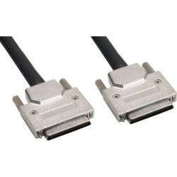 SCSI U320 Câble, InLine®, 68 broches micro Centronic (VHD) mâle/mâle, avec LVD/SE Terminator,