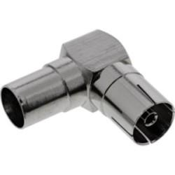 Coupleur pour câble patch RJ45 InLine® Cat.6, 2x RJ45 Femelle, blindé